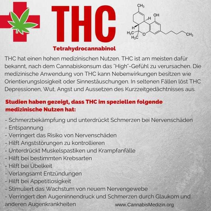 Heute möchten wir euch das Cannabinoid THC (Delta-9-Tetrahydrocannabinol) vorstellen und zeigen welchen medizinischen Nutzen es hat.  Cannabis Hanf Hemp Weed Marijuana Marihuana Medizin