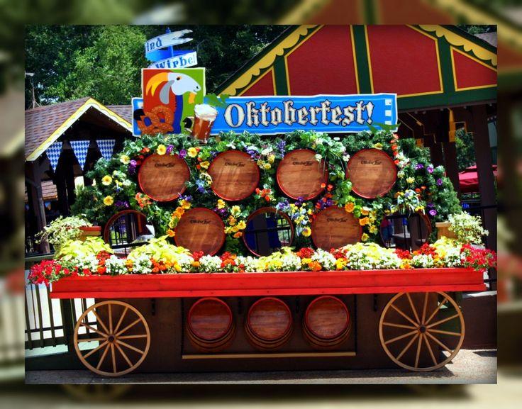 Living In Williamsburg, Virginia: More Oktoberfest Decorations In Busch Gardens …