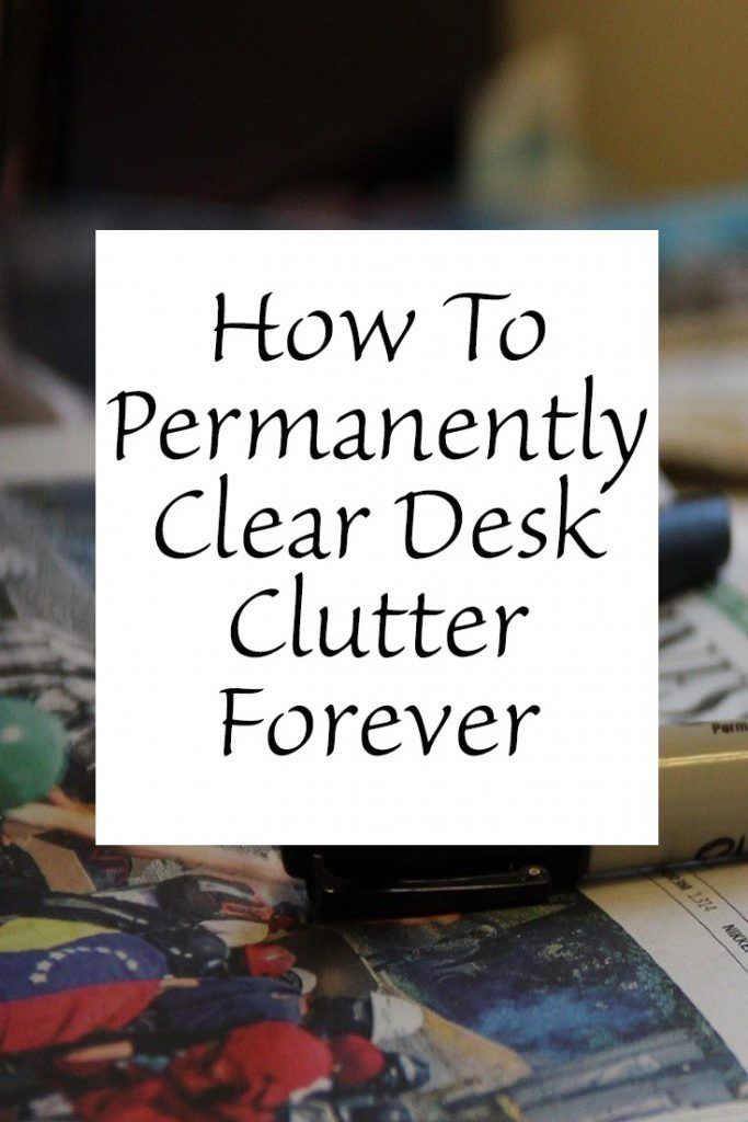 the clutter on the desk M, a successful web designer with adhd, struggled to control clutter atop his  desk in his home office he did freelance work at home when not working at his.