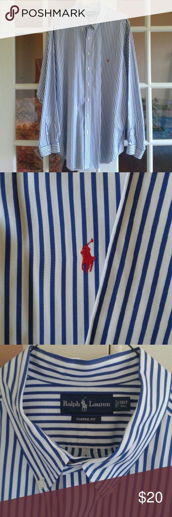 Ralph Lauren long sleeve dress shirt Long sleeve 3XLT classic fit dress shirt Ralph Lauren Shirts Dress Shirts