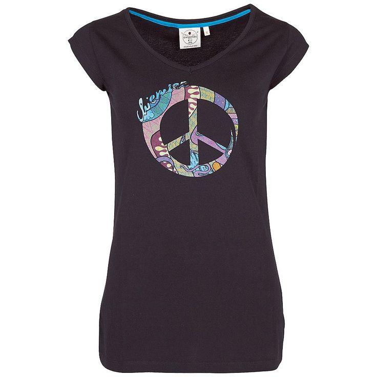 Das T-Shirt ILONA von Chiemsee wirkt begeisternd, egal ob als everyday Look oder als bewusst gesetztes Highlight. Ein großzügiger Print, designt von Sonni Hönscheid, setzt modische Aspekte. Dieses schmal geschnittene Oberteil mit Rundhals-Ausschnitt kann zu vielen Gelegenheiten getragen werden. Passt auch zu Jeans, Bermudas oder modischer Weste. Das Shirt ILONA von Chiemsee wird seine Wirkung n...