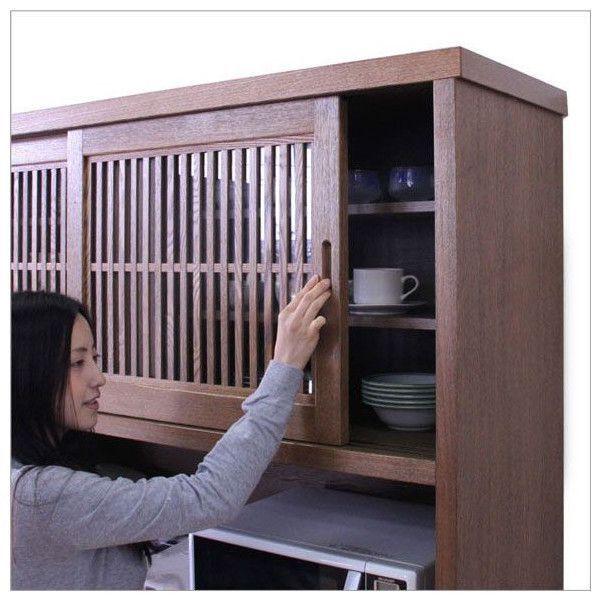 食器棚 引き戸 和 和風 モダン SALE セール【開梱設置サービス付】|stepone11|02
