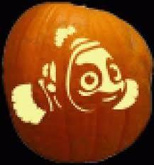 Image result for nemo pumpkin carving pattern
