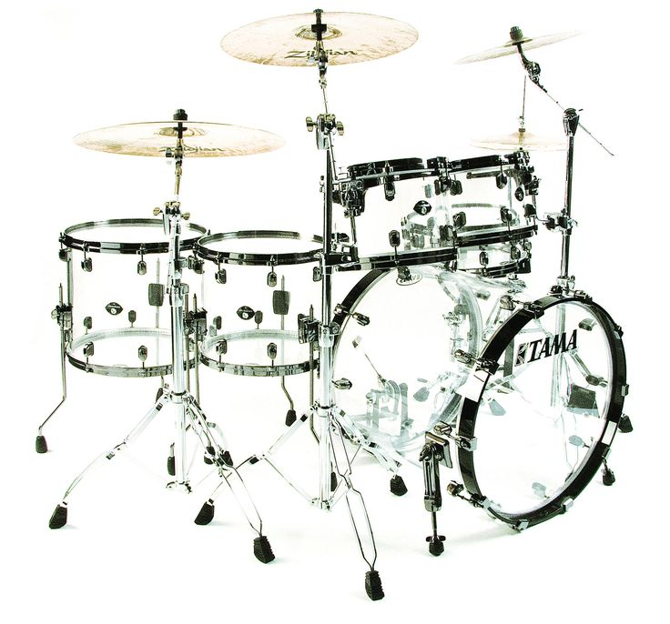 crystal ice clear acrylic tama starclassic mirage kit dom howard 39 s drums during black holes. Black Bedroom Furniture Sets. Home Design Ideas