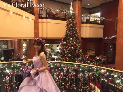 昨年11月に恵比寿のウェスティンホテル東京さんでご披露宴の新婦さんより当日のお写真を頂きましたので、ご紹介します。ウェスティンの素晴らしいクリスマスデコレ...