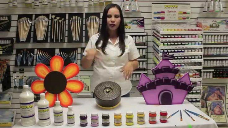 Manualidades en hielo seco con pintura Acrílica Vanguardia Pinto - http://cryptblizz.com/como-se-hace/manualidades-en-hielo-seco-con-pintura-acrilica-vanguardia-pinto/