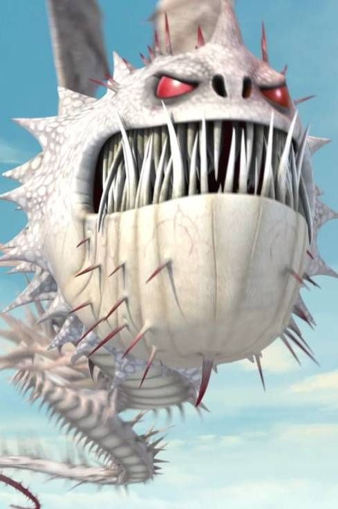 "Screaming Death is a boulder class dragon first featured in Cartoon Network's 2013 series ""Dragons: Defenders of Berk."""