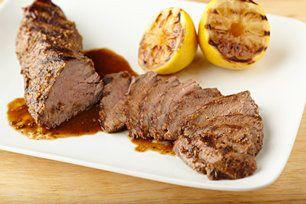 Zesty Lemon-Glazed Steak recipe