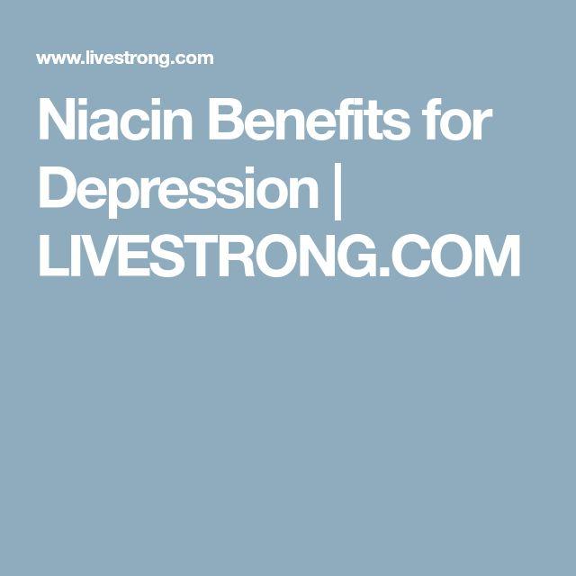 Niacin Benefits for Depression | LIVESTRONG.COM