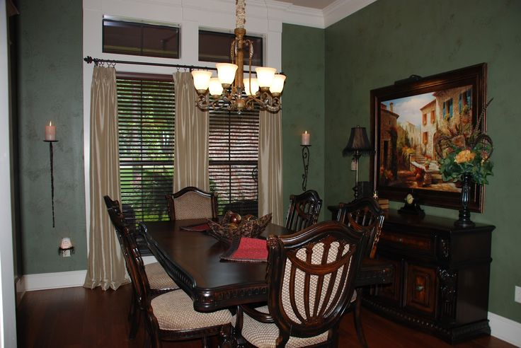 Pictures of italian tuscany living dining rooms for Italian dining room decorating ideas