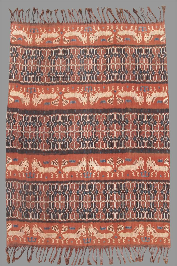 Ikat, Indonesia, early 20th C.