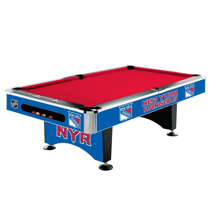 New York Rangers 8Ft Pool Table By Imperial