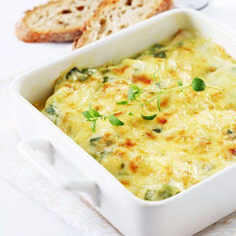 """Λαχανικά+""""ογκρατέν""""+στο+φούρνο"""