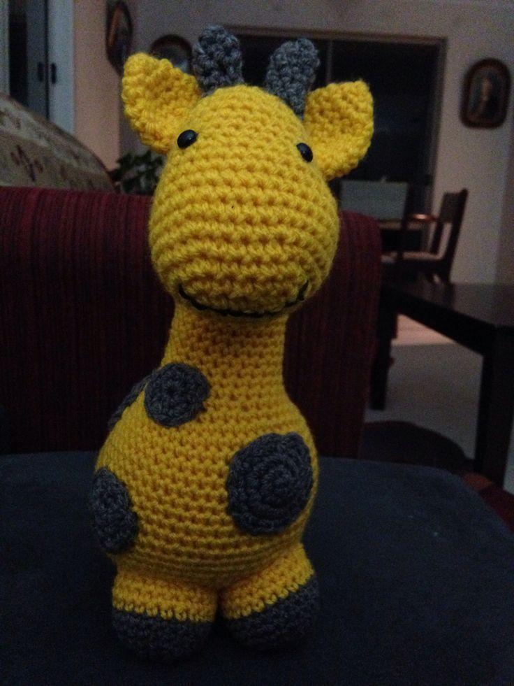 Giraffe...it's cute!