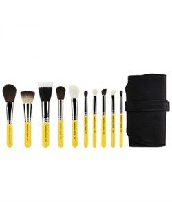 Travel Mineral 10pc. Brush Set with Roll-up Pouch  4888 руб