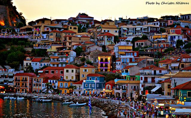 Few minutes before the night comes in Parga - Greece. (EXPLORE 19.09.2012) by Christos Ntitoras (Ditoras), via Flickr