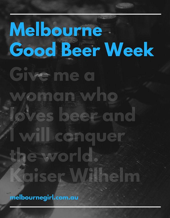 Melbourne Good Beer Week