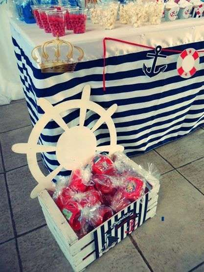 Nautico Birthday Party Ideas | Photo 5 of 10 | Catch My Party