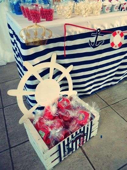 Nautico Birthday Party Ideas | Photo 5 of 10 | Catch My Party