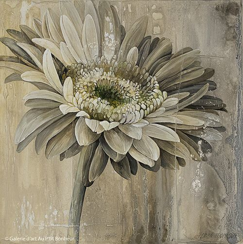 Linda Thompson, 'Neutral Whispers A', 12'' x 12'' | Galerie d'art - Au P'tit Bonheur - Art Gallery