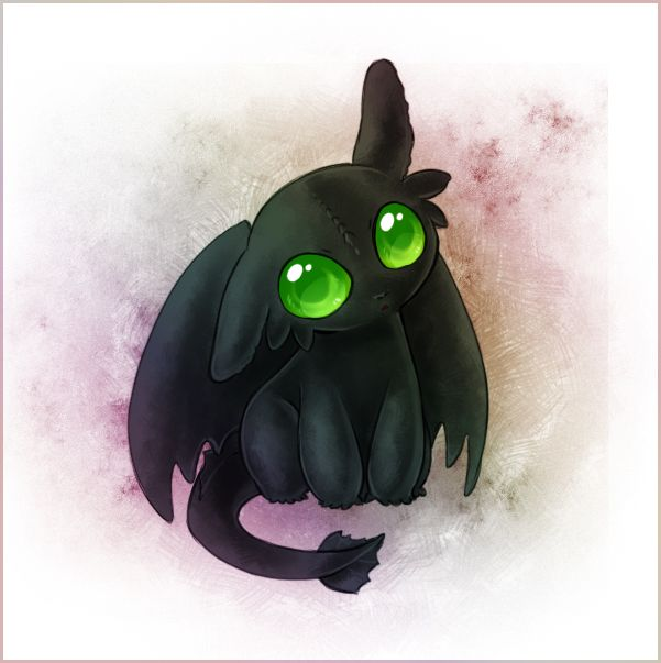 Baby Toothless by ~Zilleniose on deviantART