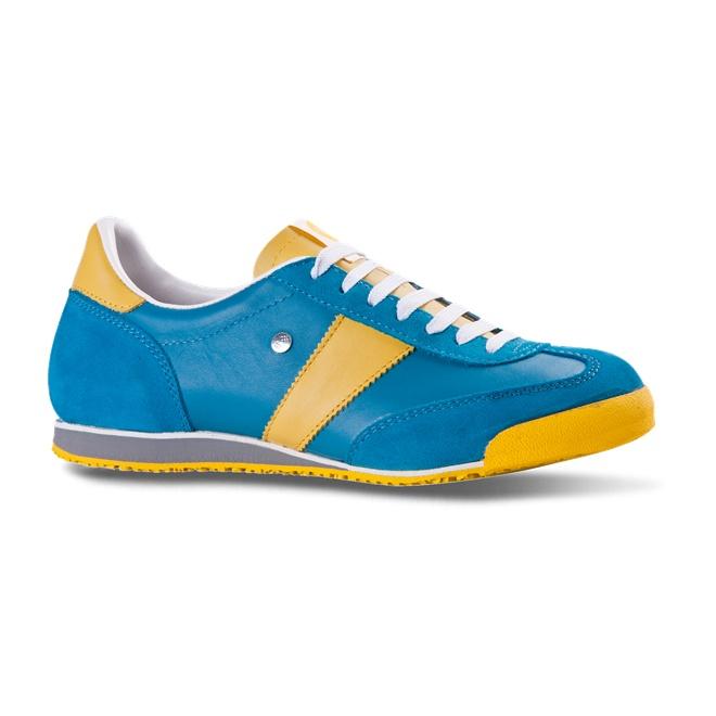 Botas - Módní obuv Classic 66 42C FJORD turquoise-yellow.   Tyhle?