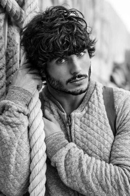 50 Long Curly Hairstyles For Men - Manly Tangled Up Cuts   geoff ...