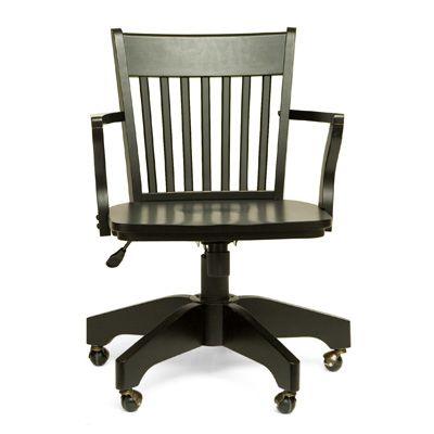 Swivel Office Chair in Espresso