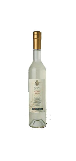 Grappa di Chianti Classico DOC. Color paglierino dai leggeri riflessi dorati; aroma di spezie dolci, intenso, al gusto e' morbida, ingentilita dall'affinamento in rovere. Ad un attento esame rivela i profumi delle vinacce fresche indice di particolare qualita'.  #grappa #chianti #castellina #sapore #aroma #gusto #tradizione #Toscana #Tuscany #wine #Italy #Siena #bottiglia #bere