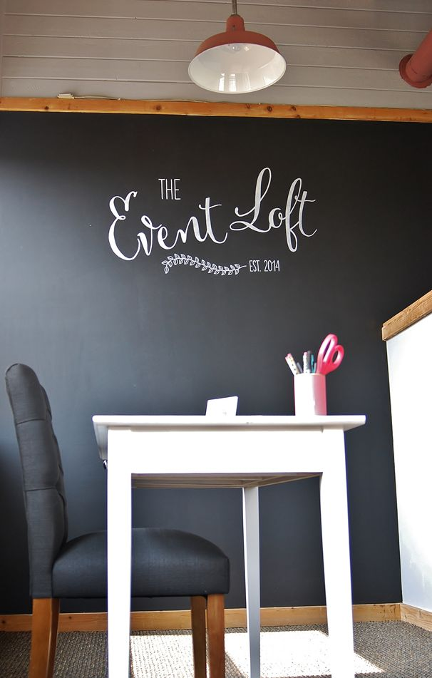 Wedding Event Planners Office Space Business Sign Chalk Art By Amber Of I DO SIGNS