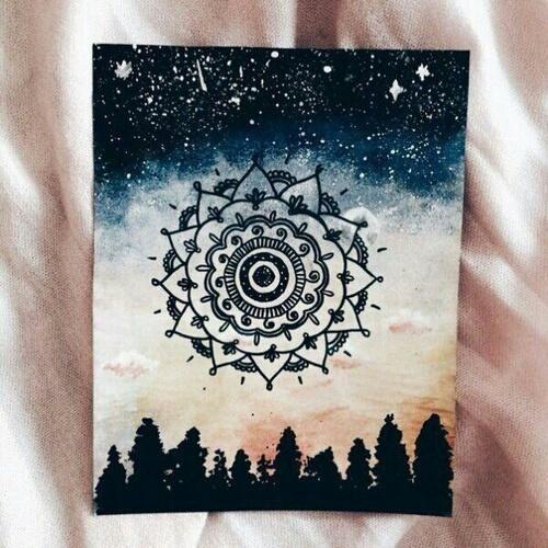 art, artist, classic, henna, lovely, midnight, night, sky