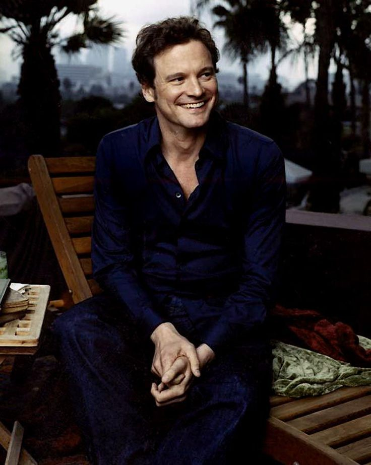 What a beautiful man!! Colin Firth forever!