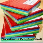 Faltblätter - Faltblätter sind ideal zum Basteln mit Kindern oder für Origami.  Dieses Set mit 250 Faltblättern enthält die vier Grundfarben Rot, Grün, Gelb und Blau.  Größe: 12 x 12 cm  Inhalt: 250 Faltblätter