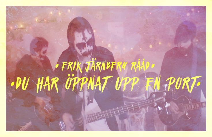 "Music Video-artwork for Erik Järnberg Rååd's ""Du har öppnat upp en port"" directed Alexander Felsing."