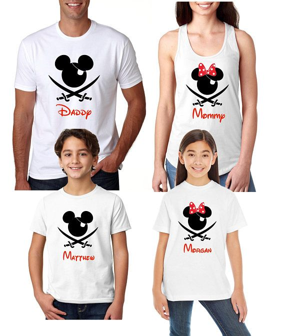 136d062669 Disney Cruise Pirate Shirts Disney Cruise Pirate Family