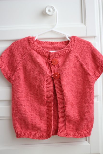 Ravelry: Quick Knit Baby Shrug free pattern by Natalie Haban