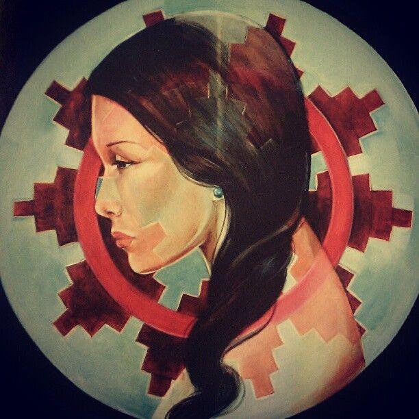 By Nani Chacon. Navajo painter.