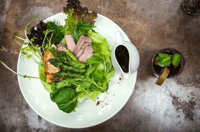 One of our great and famous salads. Green Power!