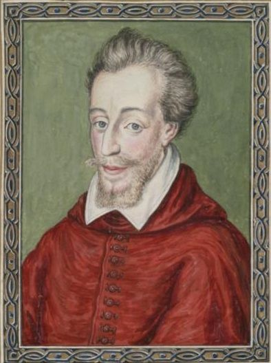 Cardinal de Bourbon.17th c.Born 1562 at Gandelus-en-Brie,Charles was the son of Louis I de Bourbon-Conde, Prince of Conde and Duke of Enghien, and Eleonore de Roye.He was the nephew of Cardinal Charles de Bourbon .During the events of the League,he chose,unlike his brothers,to follow his uncle,Charles,Cardinal de Bourbon in his action against the Protestants.He showed himself unfavorable to HenryI, Duke of Guise and according to historian Jacques Auguste de Thou was allegedly used by King…