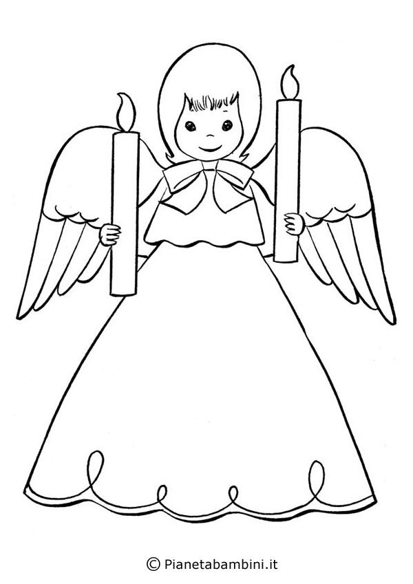 19 best christmas angel coloring page images on pinterest