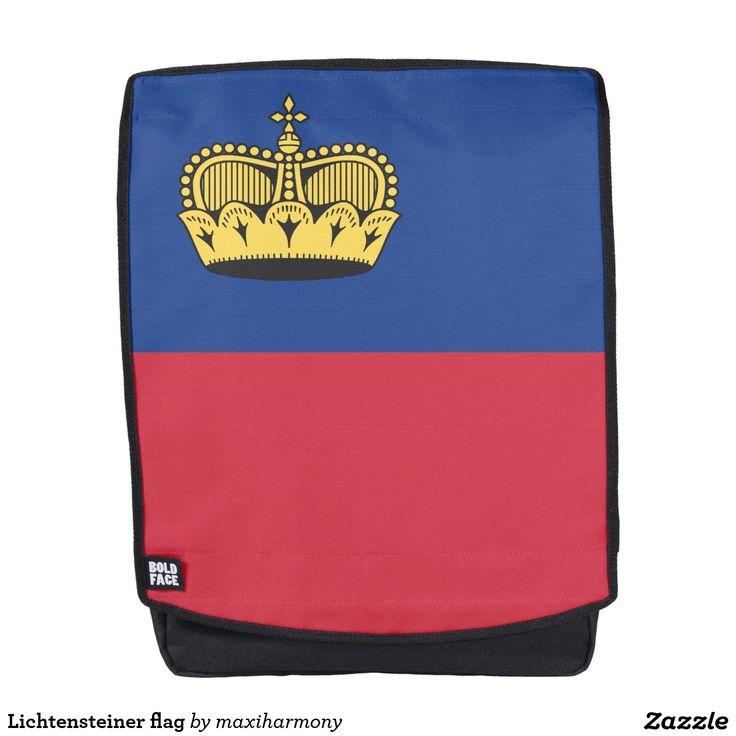 Lichtensteiner flag backpack