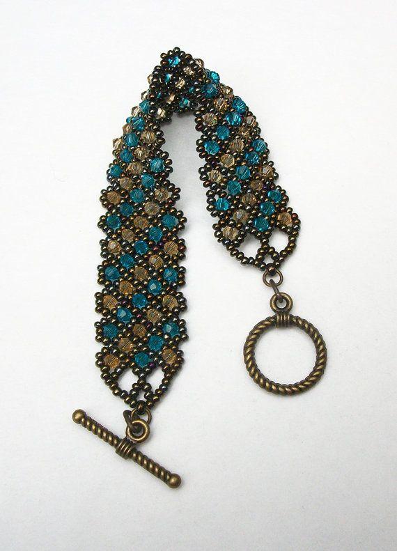 Perlen Armband, Perlen Armband, Samen Perlen Armband, Perlen Schmuck, Kristall …