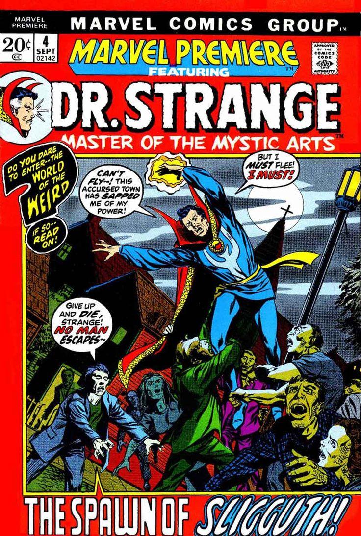 dr. strange covers   ... Smith / Frank Brunner art, Smith cover (1st Brunner Dr. Strange