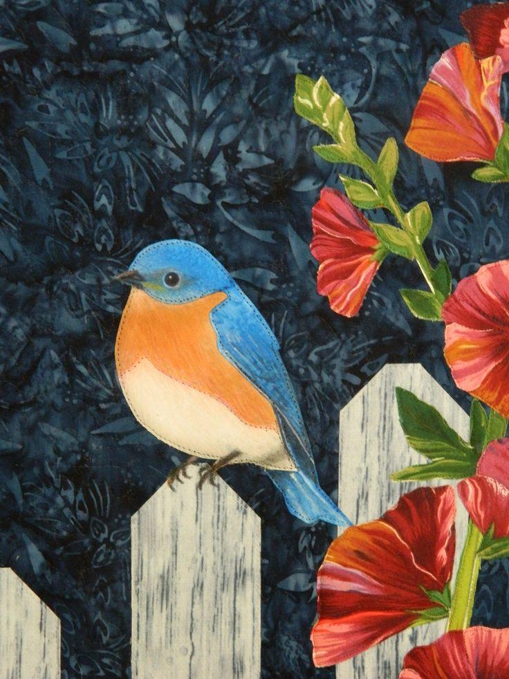 404 best Quilt Oiseaux images on Pinterest   Quilt patterns ... : quilts with birds - Adamdwight.com