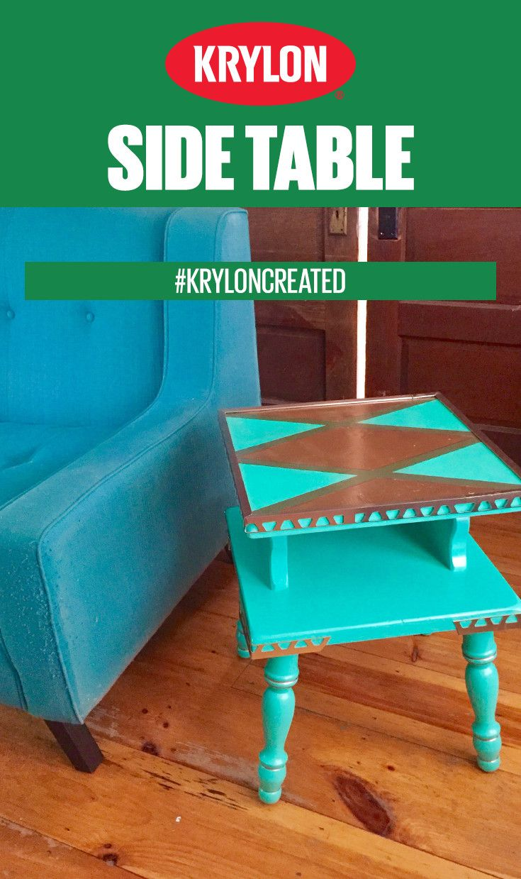 Painting miniatures color master primer - Ready To Renew Your Outdated Furniture With A Fresh Look This Spring Learn How To Upgrade A Table With Krylon Colormaster Paint Primer More In Satin