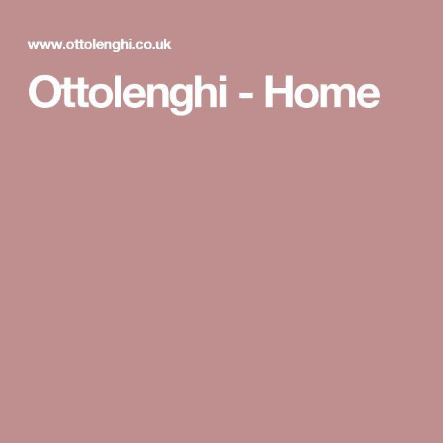 Ottolenghi - Home