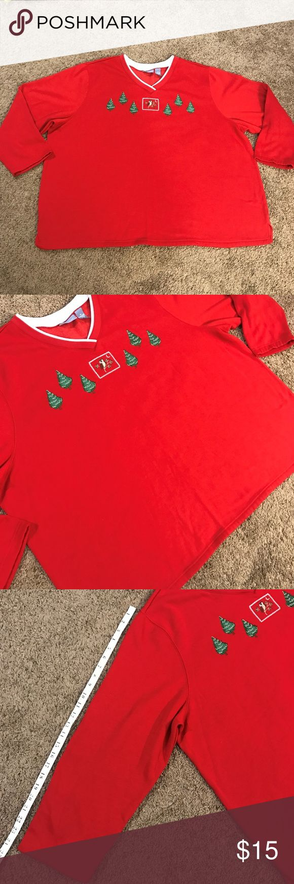 Liz & Me plus size Comfy Christmas Sweater In very good used shape no noticeable flaws Liz & Me Sweaters