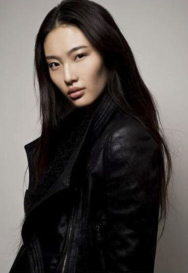 Newcomer and Chinese model Bonnie Chen, known for being a finalist in the  Elite Model