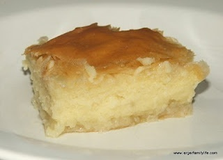Galaktoboureko  - Greek recipes and Greek food recipes