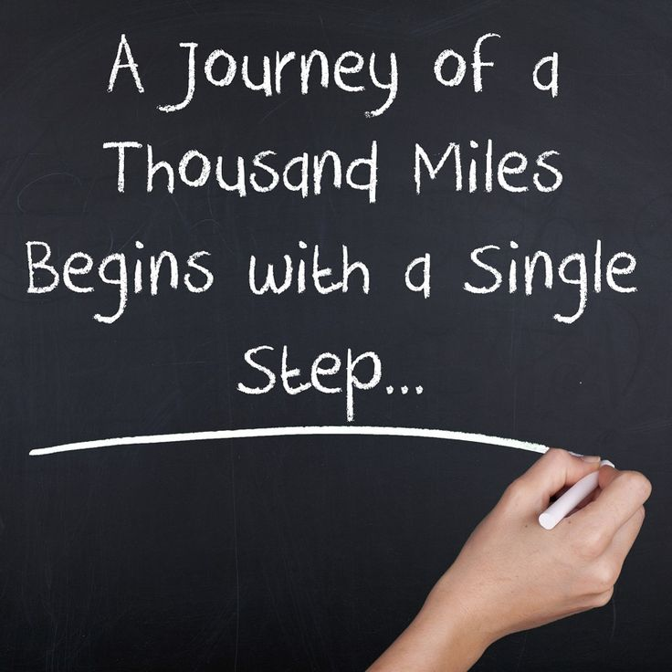 A journey of a thousand miles begins with a single step. #travel #quotes #holidayme.